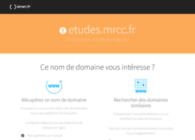 etudes.mrcc.fr