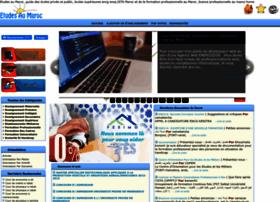 etudesaumaroc.com