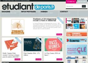 etudiantdeparis.fr