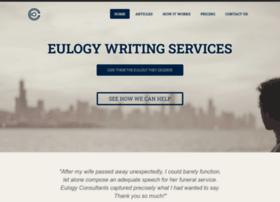 eulogyconsultants.com