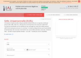 eurl.annonces-legales.fr