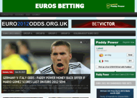 euro2012odds.org.uk