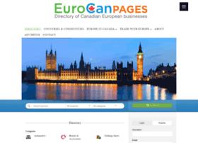 eurocanpages.com