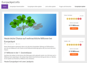 eurojackpot.info