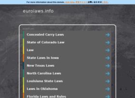 eurolaws.info