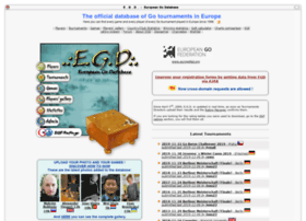 Europeangodatabase.eu
