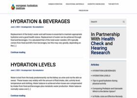 europeanhydrationinstitute.org