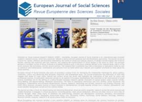 europeanjournalofsocialsciences.com