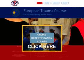 europeantraumacourse.com