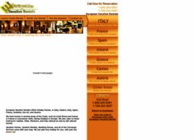 europeanvacationrental.com