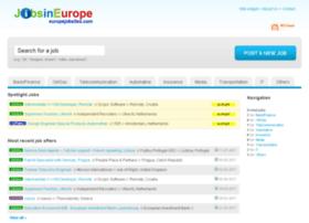 europejobsites.com