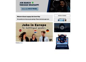 europelanguagejobs.applyto.co