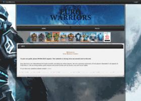 eurowarriors.shivtr.com
