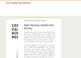eutgazeteilan.com