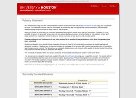 eval.uh.edu