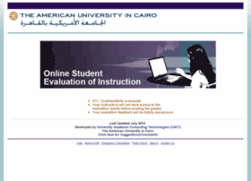 evaluation.aucegypt.edu
