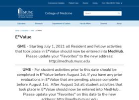 evalue.musc.edu