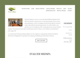 evaluermedspa.com