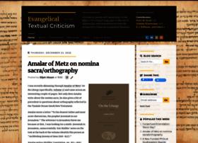 evangelicaltextualcriticism.blogspot.co.uk