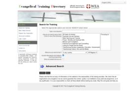 evangelicaltrainingdirectory.org