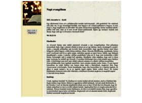 evangelium.katolikus.hu