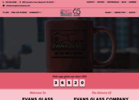 evansglasscompany.com