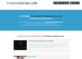 evasionpsp.forumdefan.com