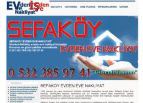 evdenevenakliyatsefakoy.com