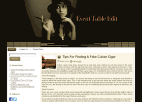 event-table-edit.com