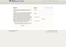 event.proexam.org