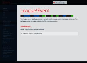 event.thephpleague.com