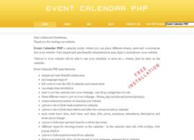 eventcalendarphp.com