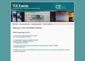 events-tce.technion.ac.il