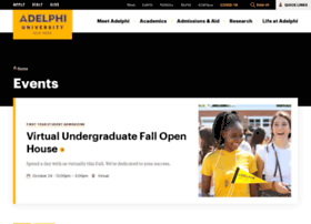 events.adelphi.edu