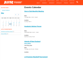 events.aum.edu