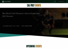 events.calpoly.edu