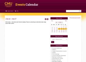 events.cmich.edu