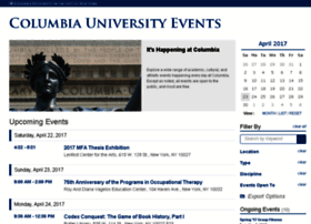 events.columbia.edu