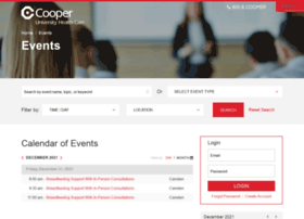 events.cooperhealth.org