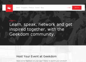 events.geekdom.com