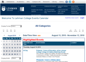 events.lehman.edu