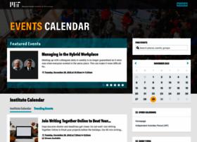 events.mit.edu