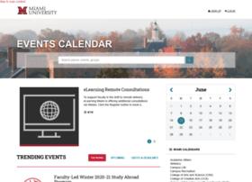 events.muohio.edu