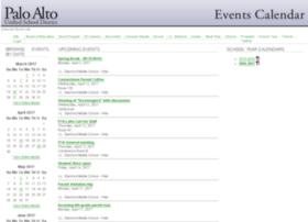 events.pausd.org