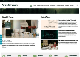 events.shaklee.com