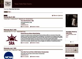 events.txstate.edu