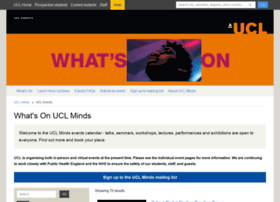 events.ucl.ac.uk