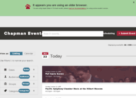 eventsdev.chapman.edu