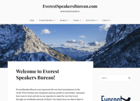 everestspeakersbureau.com