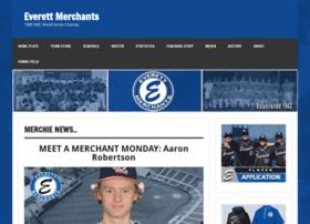 everettmerchantsbaseball.com